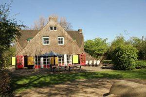 Houten huis vakantiehuis 20 personen Nederland