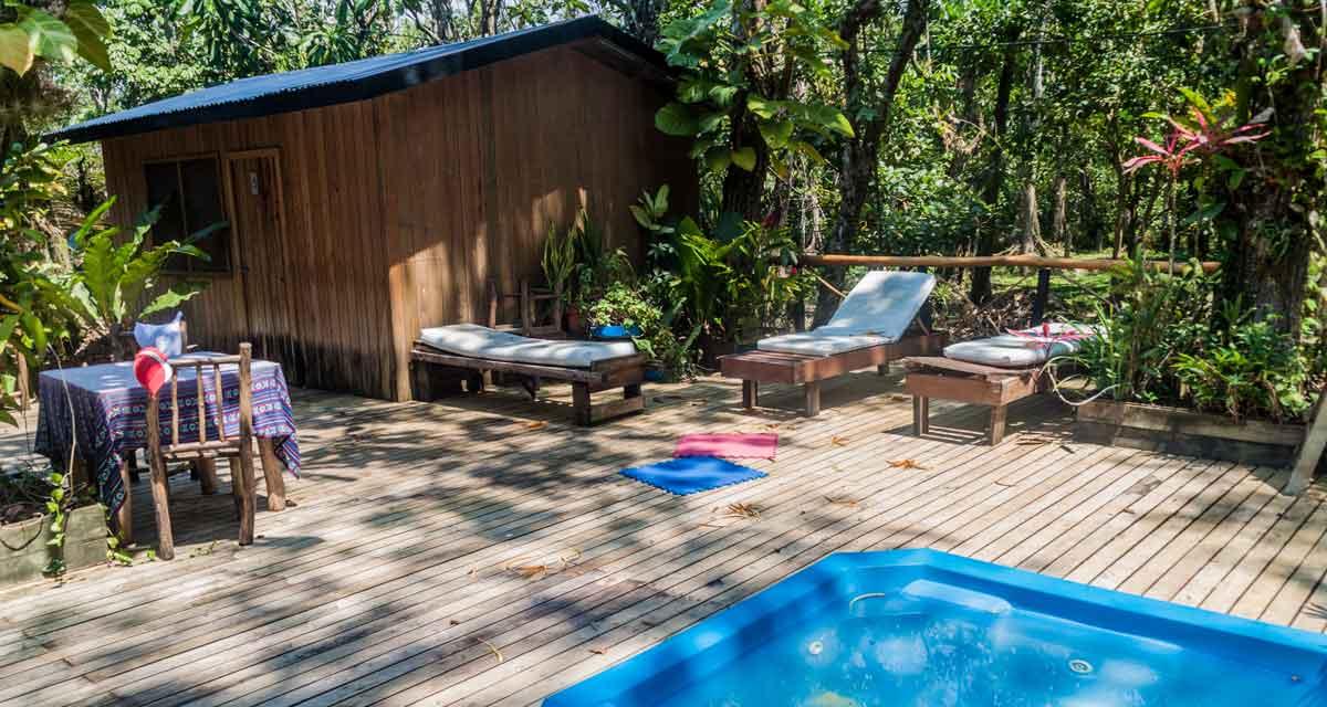 groot vakantiehuis in de natuur met jacuzzi