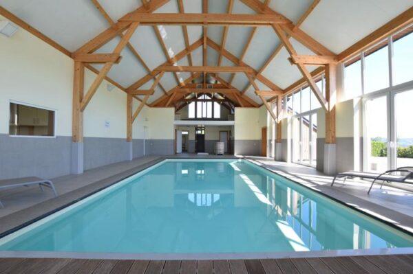 les bains belgie ardennen 33 personen binnenzwembad