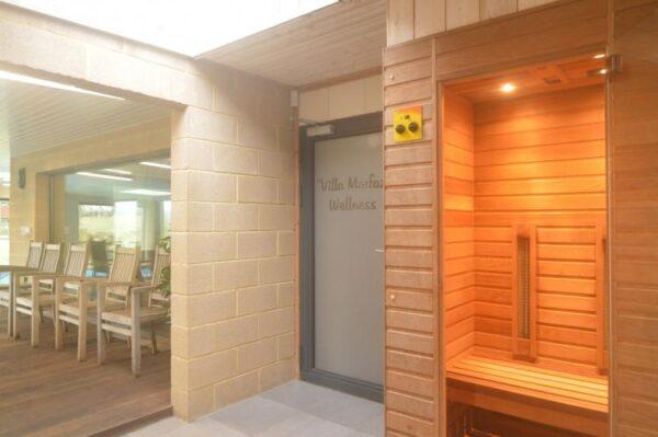 villa morfaz belgie ardennen 24 personen sauna