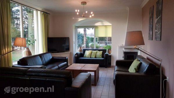 familieweekend accommodatie haamstede 20 personen nederland zeeland haamstede zithoek