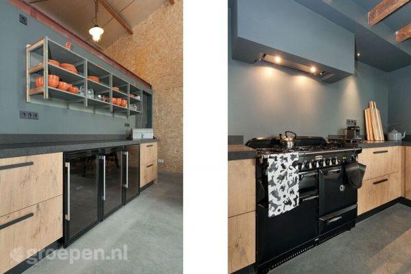 groepsaccommodatie scharendijke 28 personen nederland zeeland scharendijke keuken