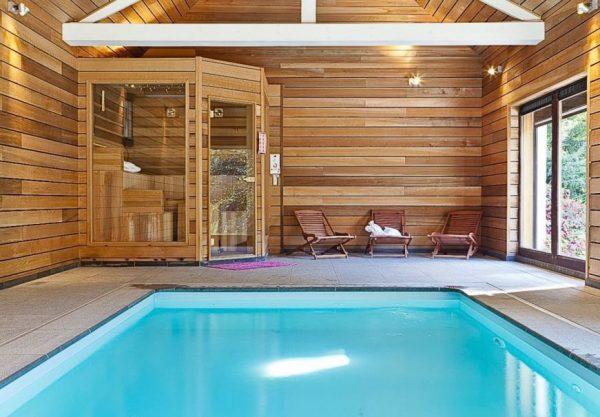 natuurhuisje in stoumont 33853 belgie ardennen 30 personen binnenzwembad sauna